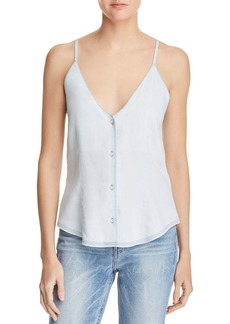 DL 1961 DL1961 Thompson St Chambray Slip Tank