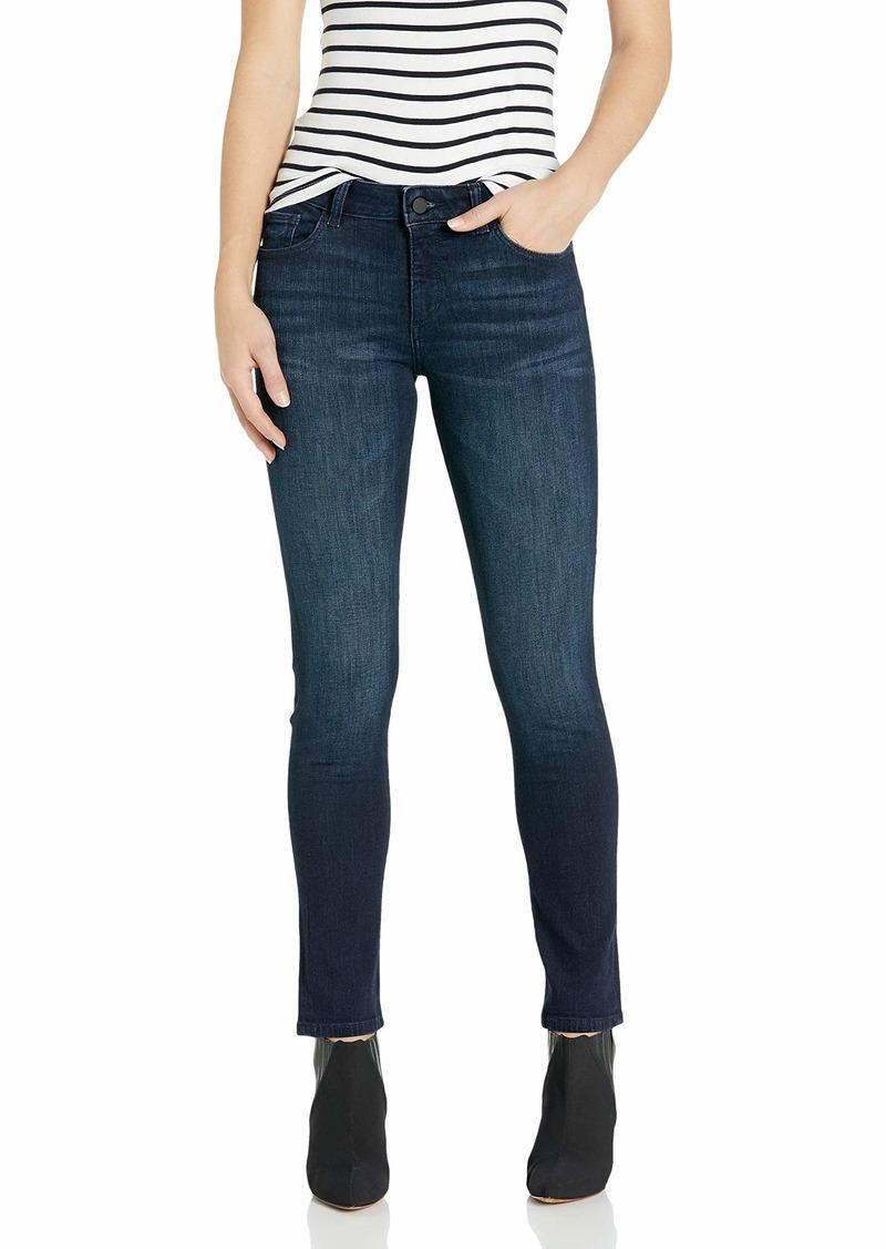 DL 1961 DL1961 Women's Angel Mid Rise Cigarette Fit Ankle Jean