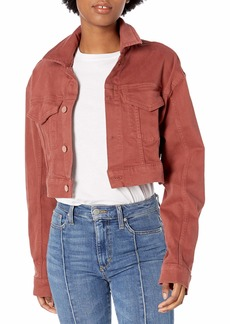 DL 1961 DL1961 Women's Annie Relaxed Fit Vintage Cropped Jacket