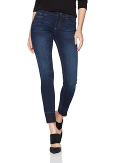 DL 1961 DL1961 Women's Coco Curvy Mid Rise Skinny Fit Ankle Jeans