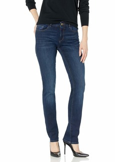 DL 1961 DL1961 Women's Coco Curvy Mid Rise Straight Leg Jeans
