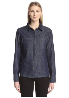 DL 1961 DL1961 Women's Denim Shirt  XS