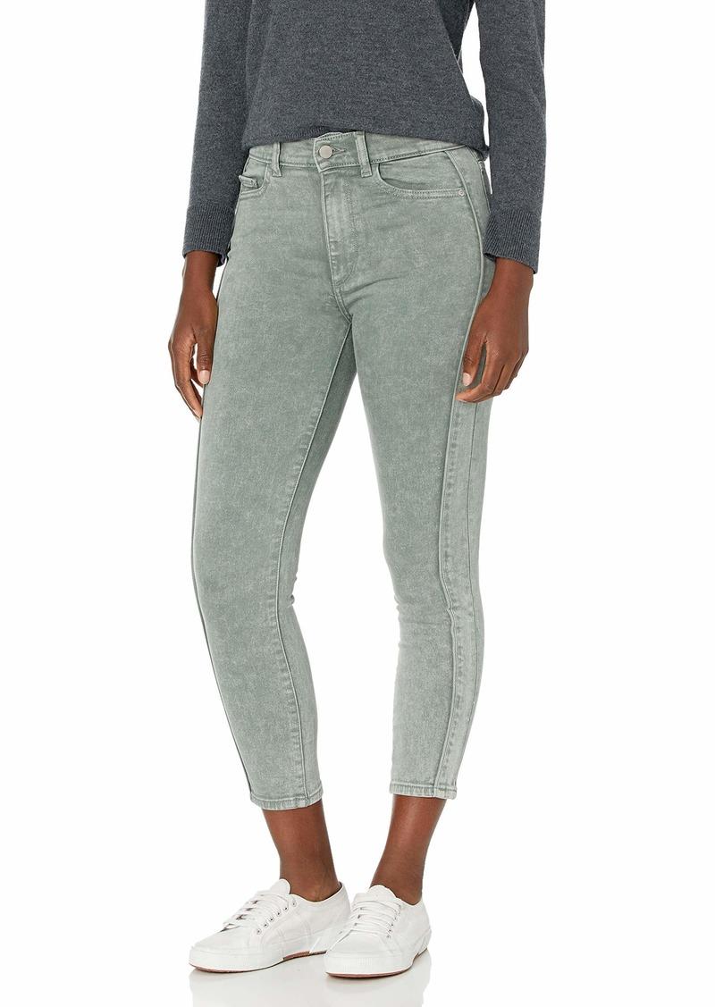 DL 1961 DL1961 Women's Farrow Instasculpt High Rise Skinny Fit Cropped Jean