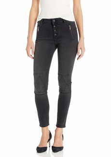 DL 1961 DL1961 Women's Florence Instasculpt Mid Rise Button Fly Skinny Fit Ankle Jean