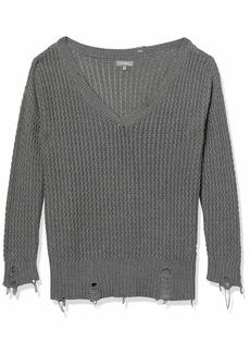 DL 1961 DL1961 Women's Freeman Alley V-Neck Pullover Sweater