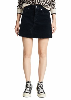 DL 1961 DL1961 Women's Georgia Corduroy Mini Skirt