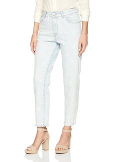 DL1961 Women's Goldie High Rise Tapered Jean