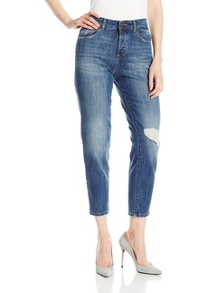 DL1961 Women's Goldie High Rise Tapered Jeans