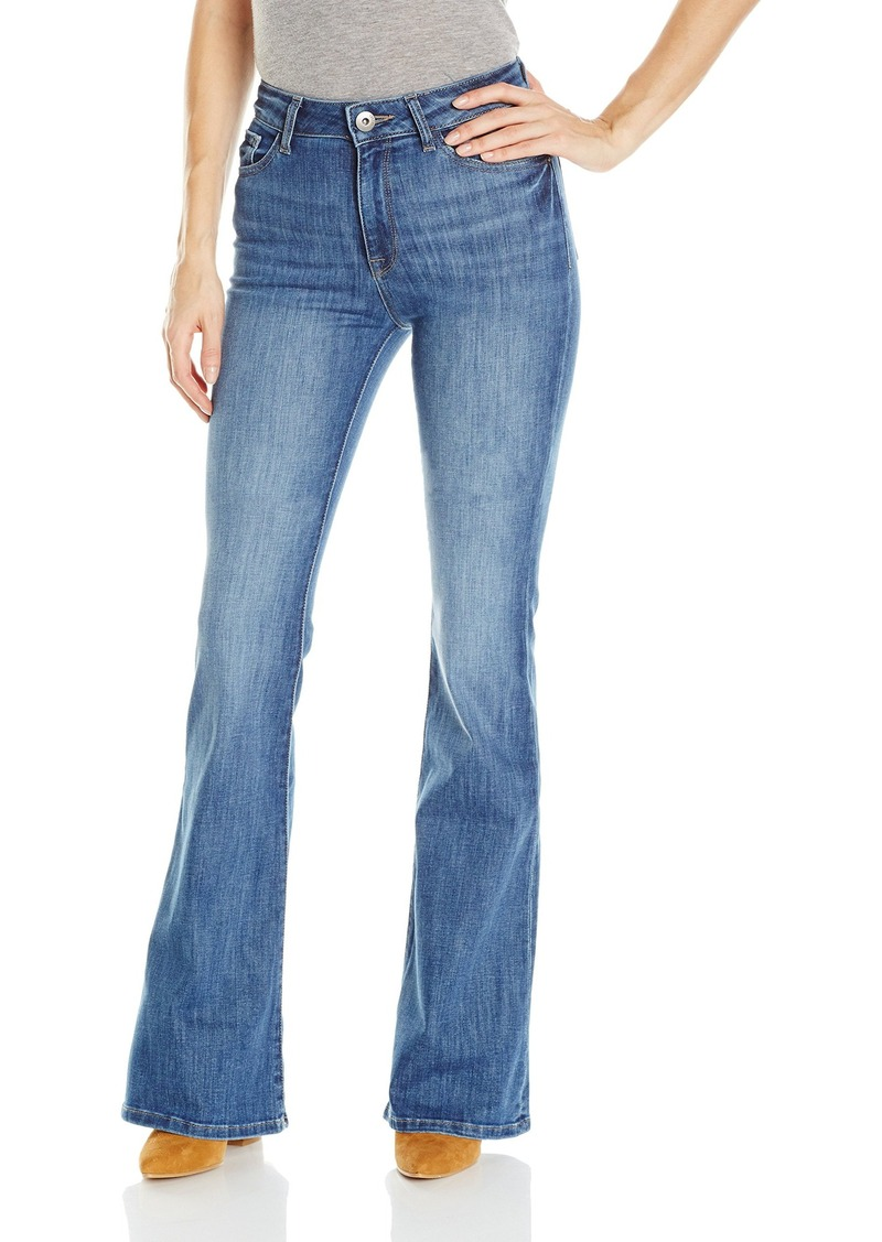 DL 1961 DL1961 Women's Heather High Rise Flare Jeans in