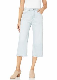 DL 1961 DL1961 Women's Hepburn High Rise Wide Leg Crop Jeans