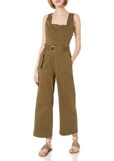 DL 1961 DL1961 Women's Hepburn Wide Leg Crop Jumpsuit
