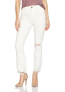 DL1961 Women's Jackie Trimtone Cropped Flare Jeans