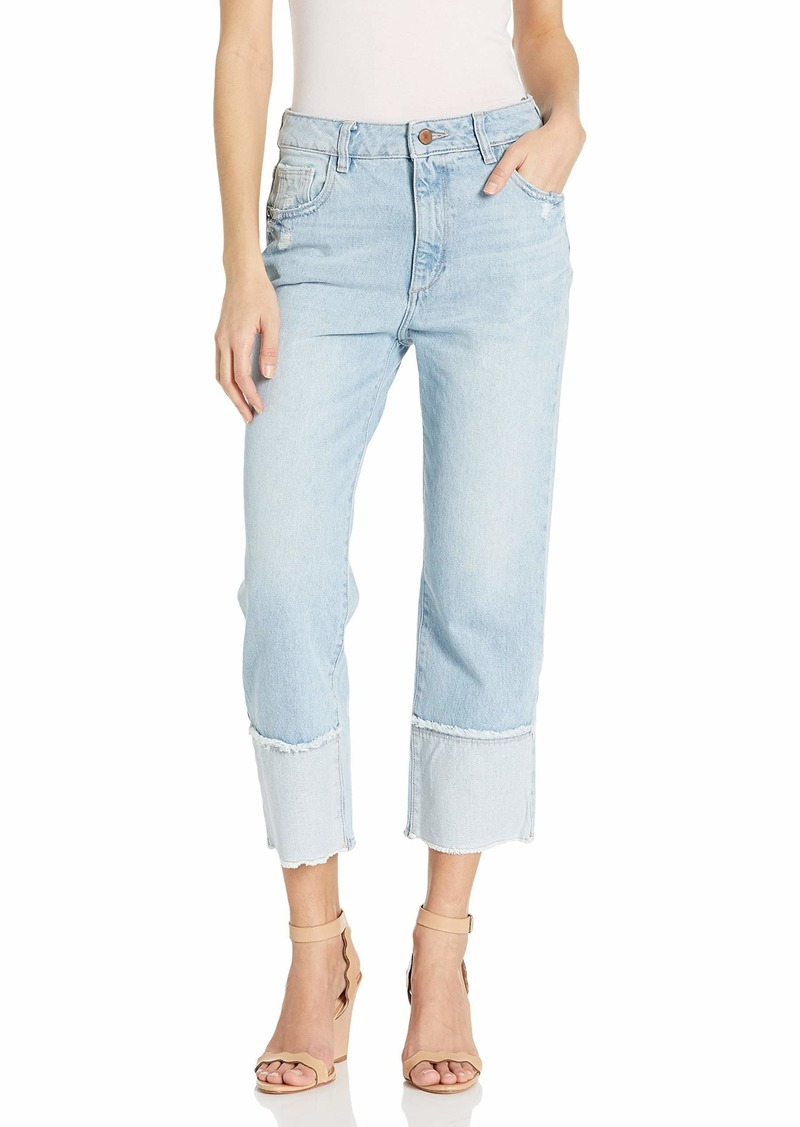DL 1961 DL1961 Women's Jerry Cropped-High Rise Vintage Straight Jeans