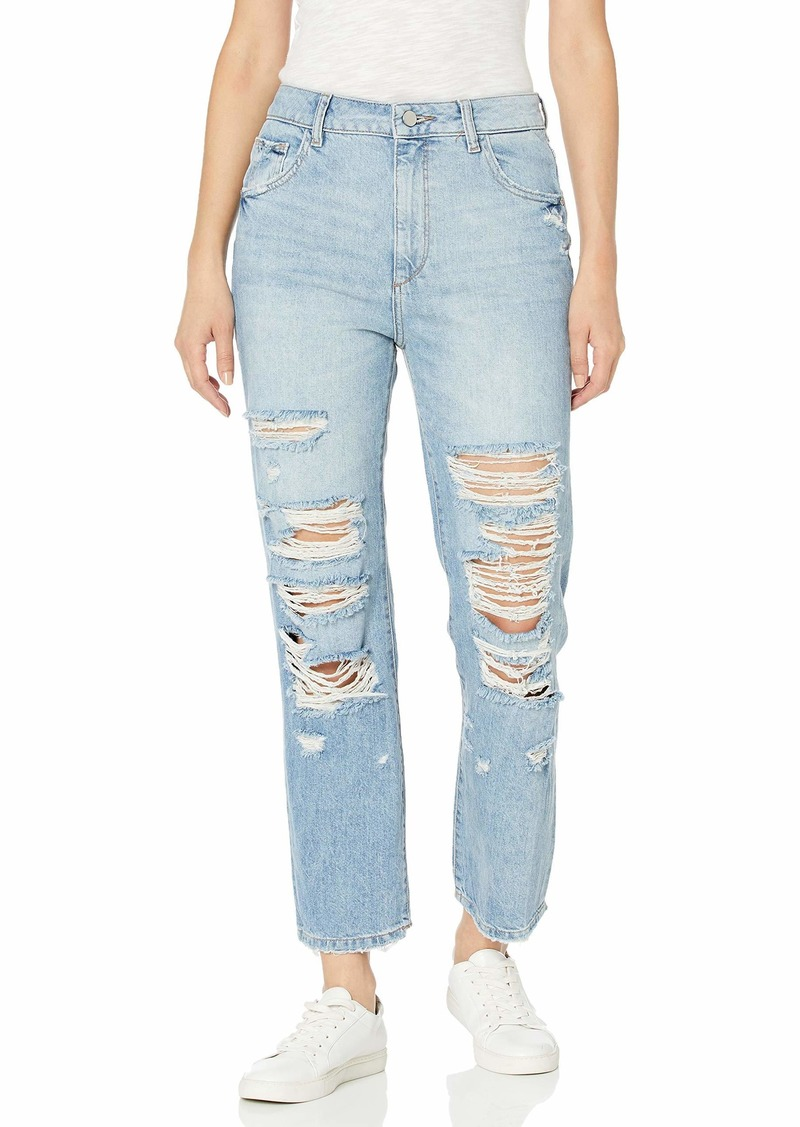 DL 1961 DL1961 Women's Jerry High Rise Vintage Straight Fit Jeans