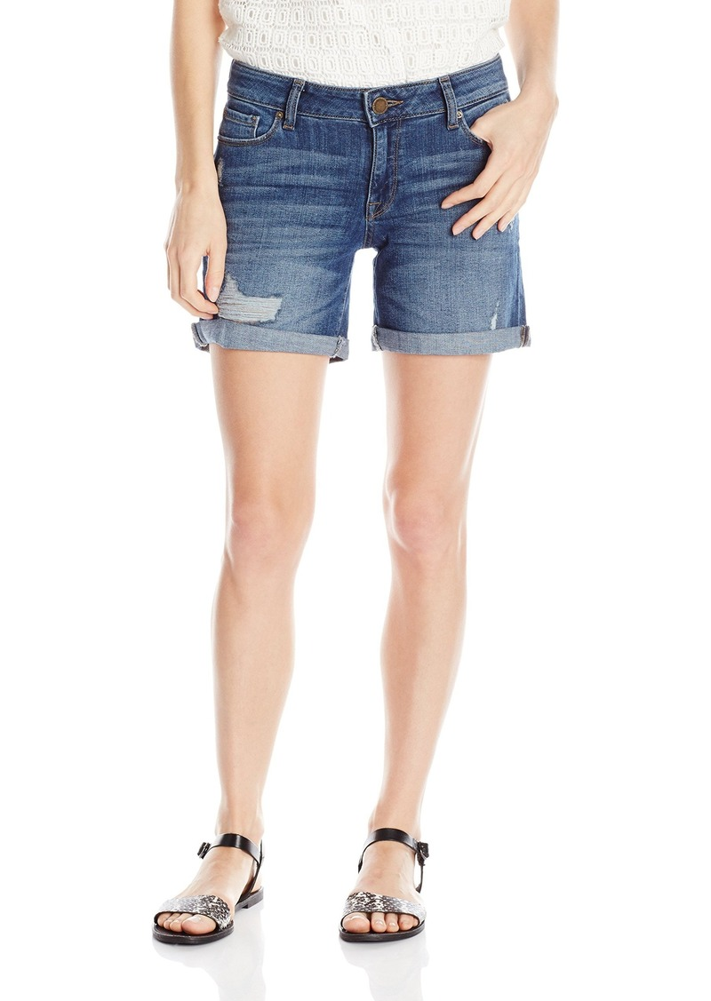 DL 1961 DL1961 Women's Karlie Boyfriend Shorts Jeans  26