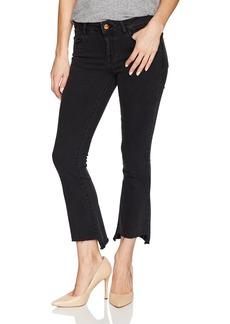 DL1961 Women's Lara Instasculpt Cropped Flare Jeans