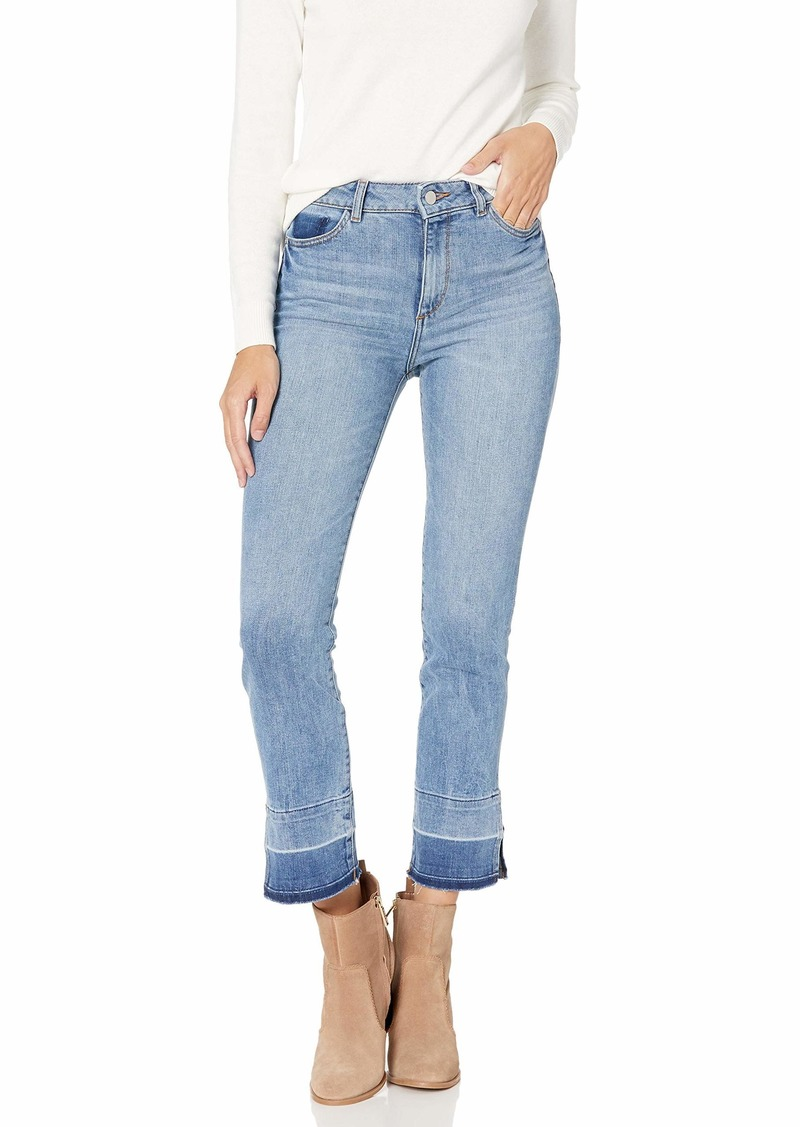 DL 1961 DL1961 Women's Mara High Rise Straight Fit Ankle Jeans