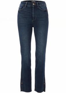 DL 1961 DL1961 Women's Mara High Rise Straight Leg Ankle Jeans