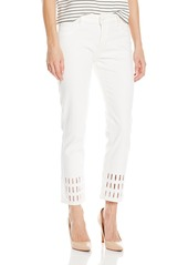 DL 1961 DL1961 Women's Nettle High Rise Cropped Straight Jeans in Chatterley
