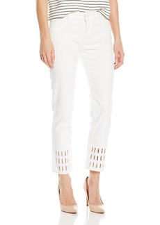 DL1961 Women's Nettle High Rise Cropped Straight Jeans in Chatterley