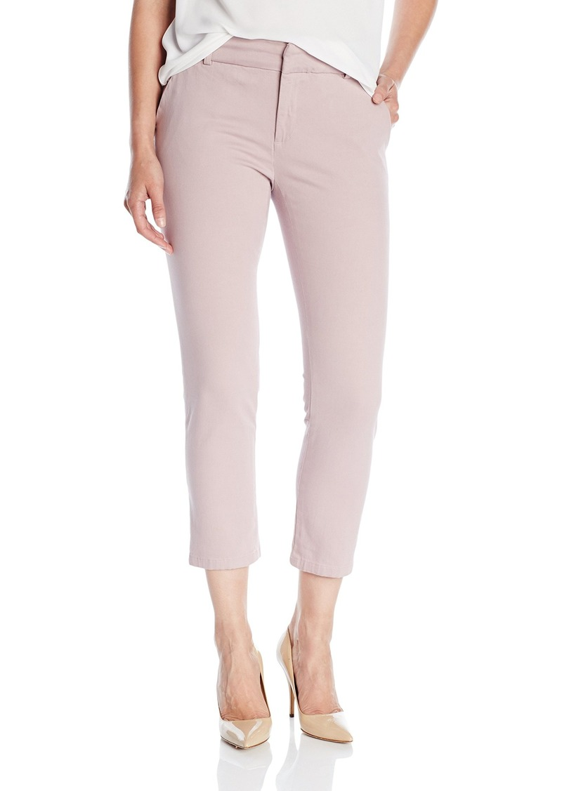 DL 1961 DL1961 Women's Poppy High Rise Slim Straight Trousers in