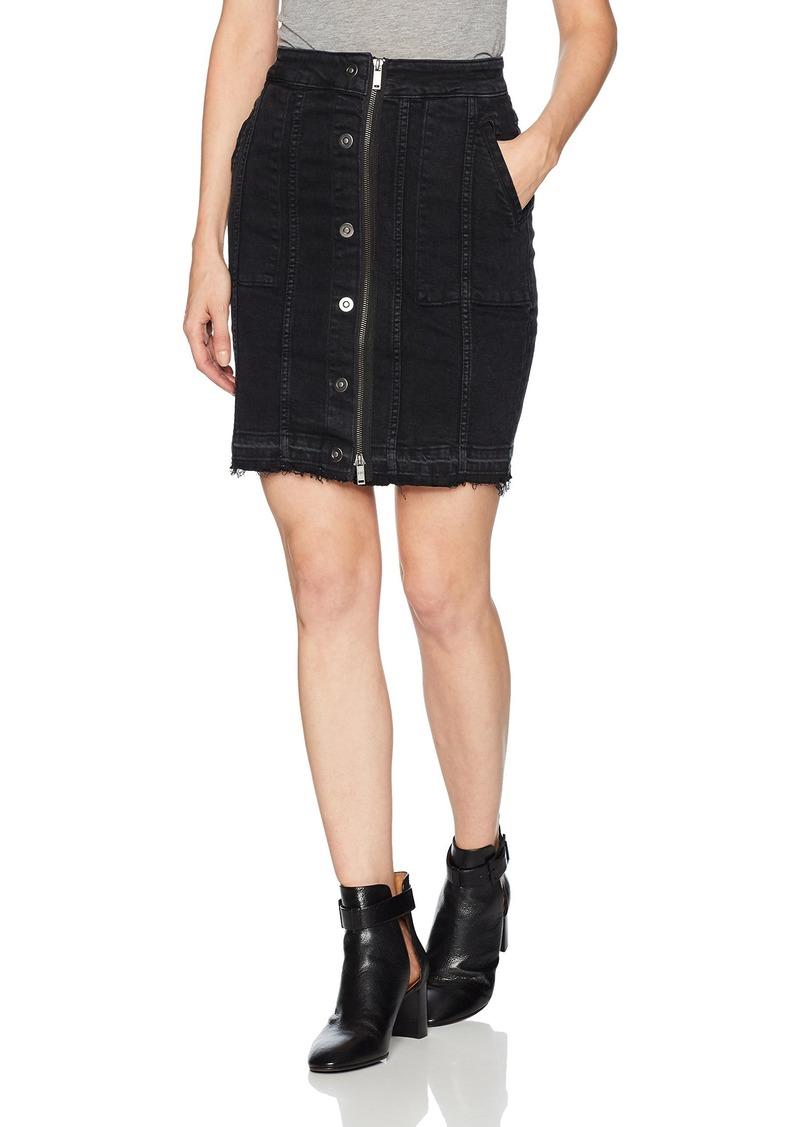 DL 1961 DL1961 Women's Poppy Skirt  S