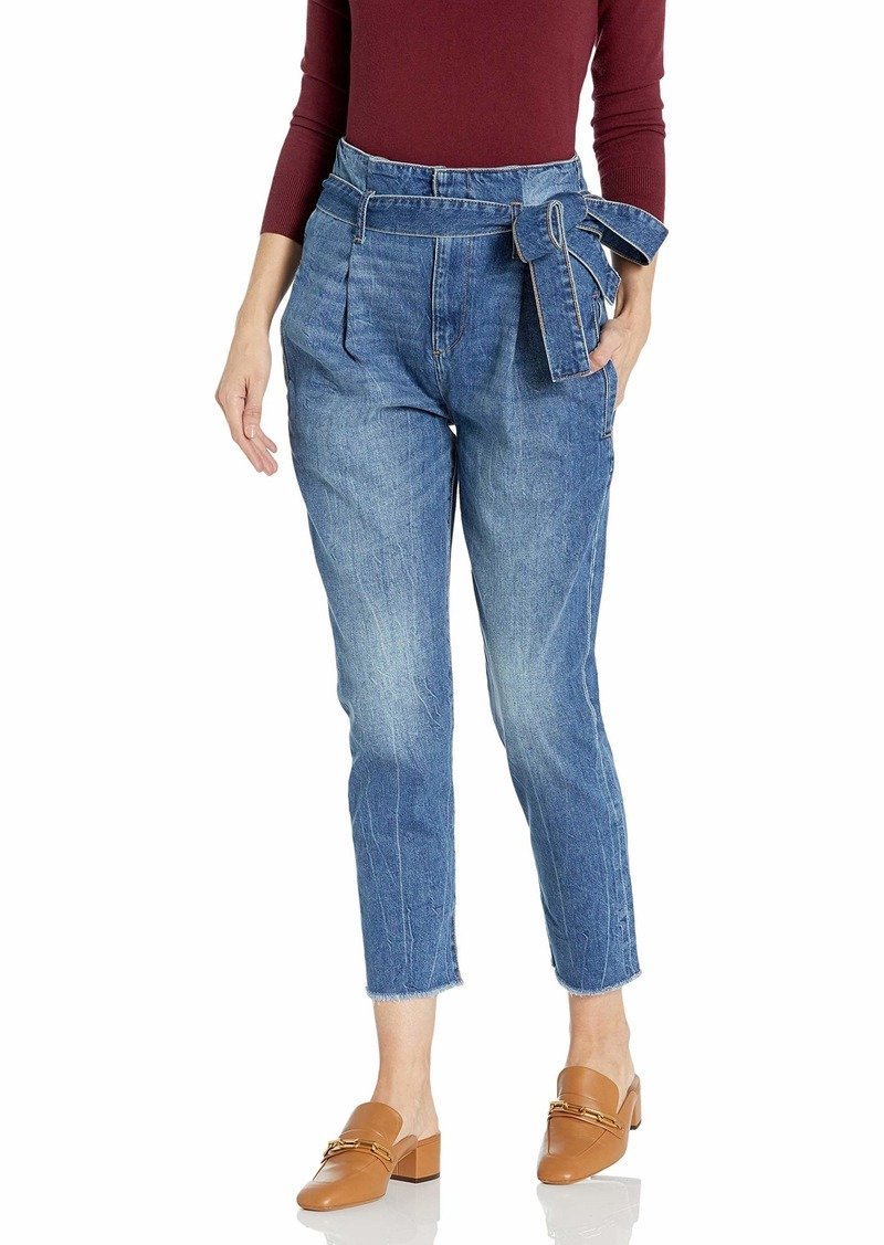 DL 1961 DL1961 Women's Susie High Rise Paperbag Tapered Jeans