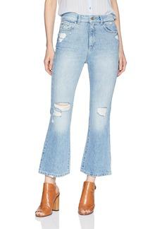 DL 1961 DL1961 Women's Wallace High Rise Crop Flare Jean