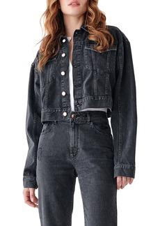 DL 1961 DL1961 x Marianna Hewitt Annie Crop Denim Jacket