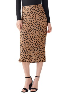 DL 1961 DL1961 x Marianna Hewitt Bank Street Silk Pencil Skirt