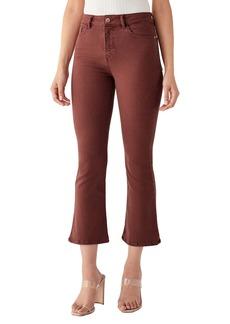 DL 1961 DL1961 x Marianna Hewitt Bridget Instasculpt High Waist Crop Bootcut Jeans (Redwood)