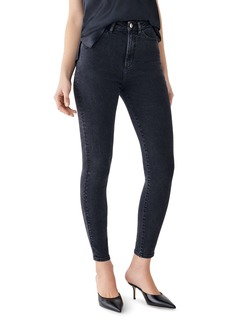 DL 1961 DL1961 x Marianna Hewitt Chrissy Ankle Ultra High-Rise Jeans in Camarillo