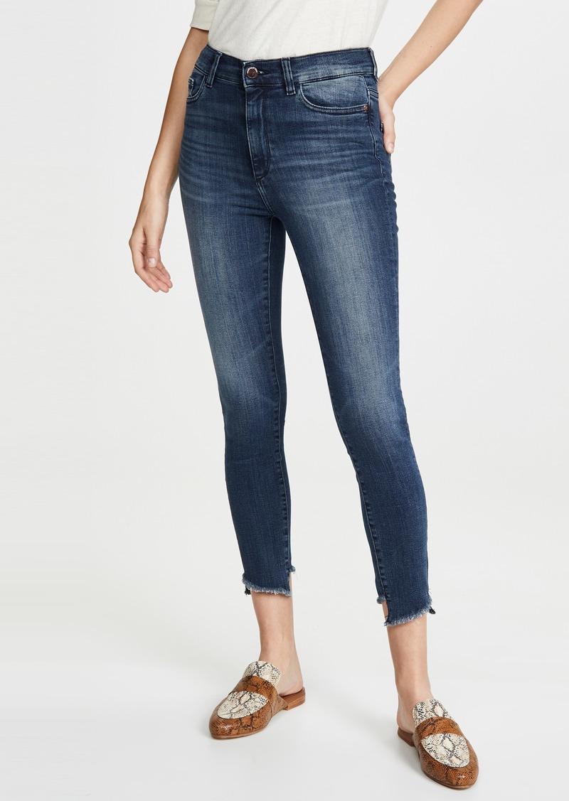 DL 1961 DL1961 x Marianna Hewitt Farrow Crop High Rise Skinny Jeans