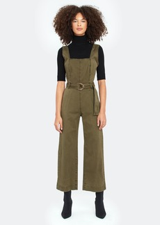 DL 1961 Dl1961 X Marianna Hewitt Hepburn Belted Wide Leg Jumpsuit - M - Also in: L, S