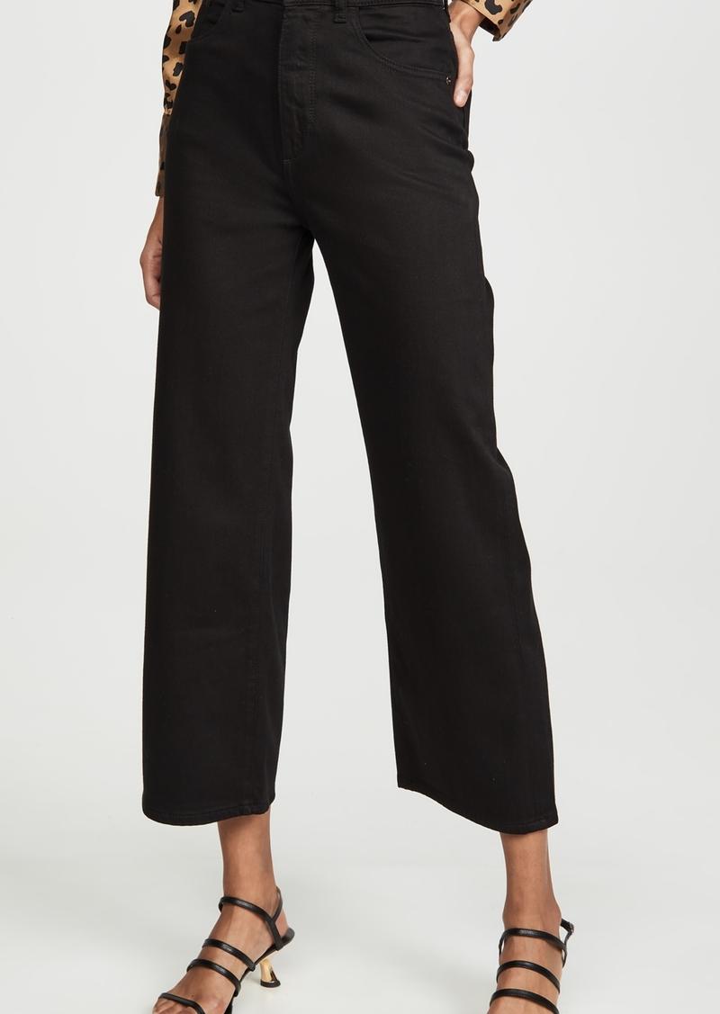 DL 1961 DL1961 x Marianna Hewitt Hepburn High Rise Wide Leg Jeans