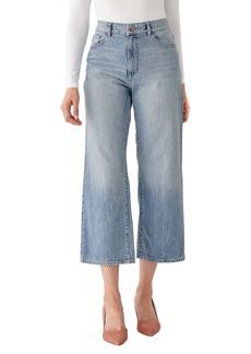 DL 1961 DL1961 x Marianna Hewitt Hepburn High Waist Crop Wide Leg Jeans (Humboldt)