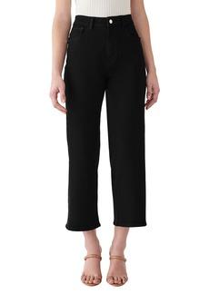 DL 1961 DL1961 x Marianna Hewitt Hepburn High Waist Crop Wide Leg Jeans (Stockton)