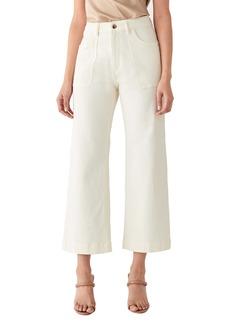 DL 1961 DL1961 x Marianna Hewitt Hepburn High Waist Wide Leg Jeans (Sutter)
