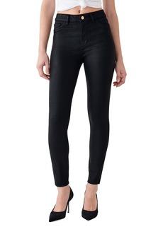 DL 1961 DL1961 x Marianna Hewitt Instasculpt Farrow High Waist Ankle Coated Skinny Jeans (Sonoma)