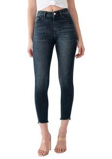 DL 1961 DL1961 x Marianna Hewitt Instasculpt Farrow High Waist Crop Fray Step Hem Skinny Jeans (Pomona)