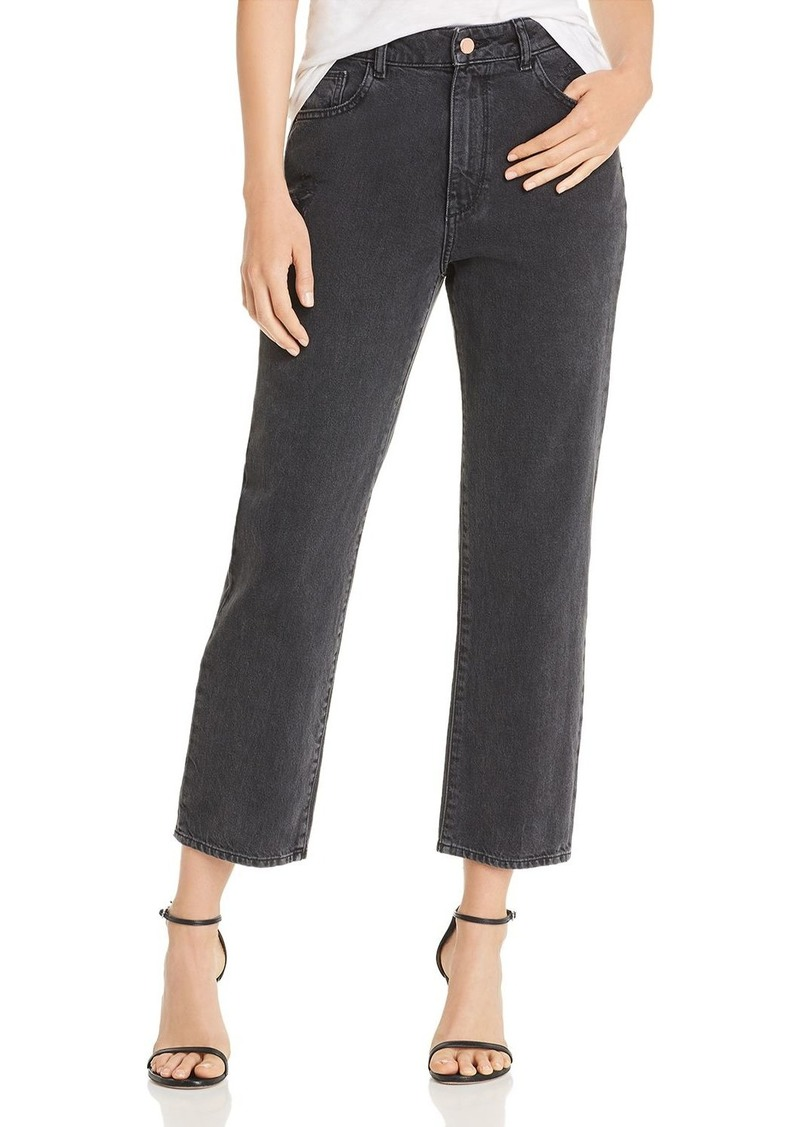 DL 1961 DL1961 x Marianna Hewitt Jerry High-Rise Vintage Straight Jeans in Salina