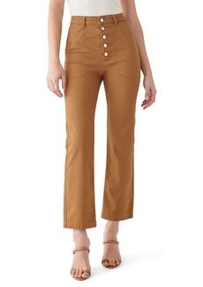 DL 1961 DL1961 x Marianna Hewitt Jerry High Waist Vintage Crop Straight Leg Jeans (Alta)