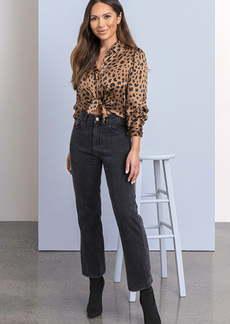 DL 1961 DL1961 x Marianna Hewitt Jerry High Waist Vintage Crop Straight Leg Jeans (Salina)