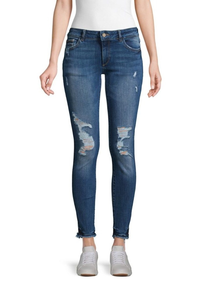 DL 1961 Emma Distressed Skinny Jeans