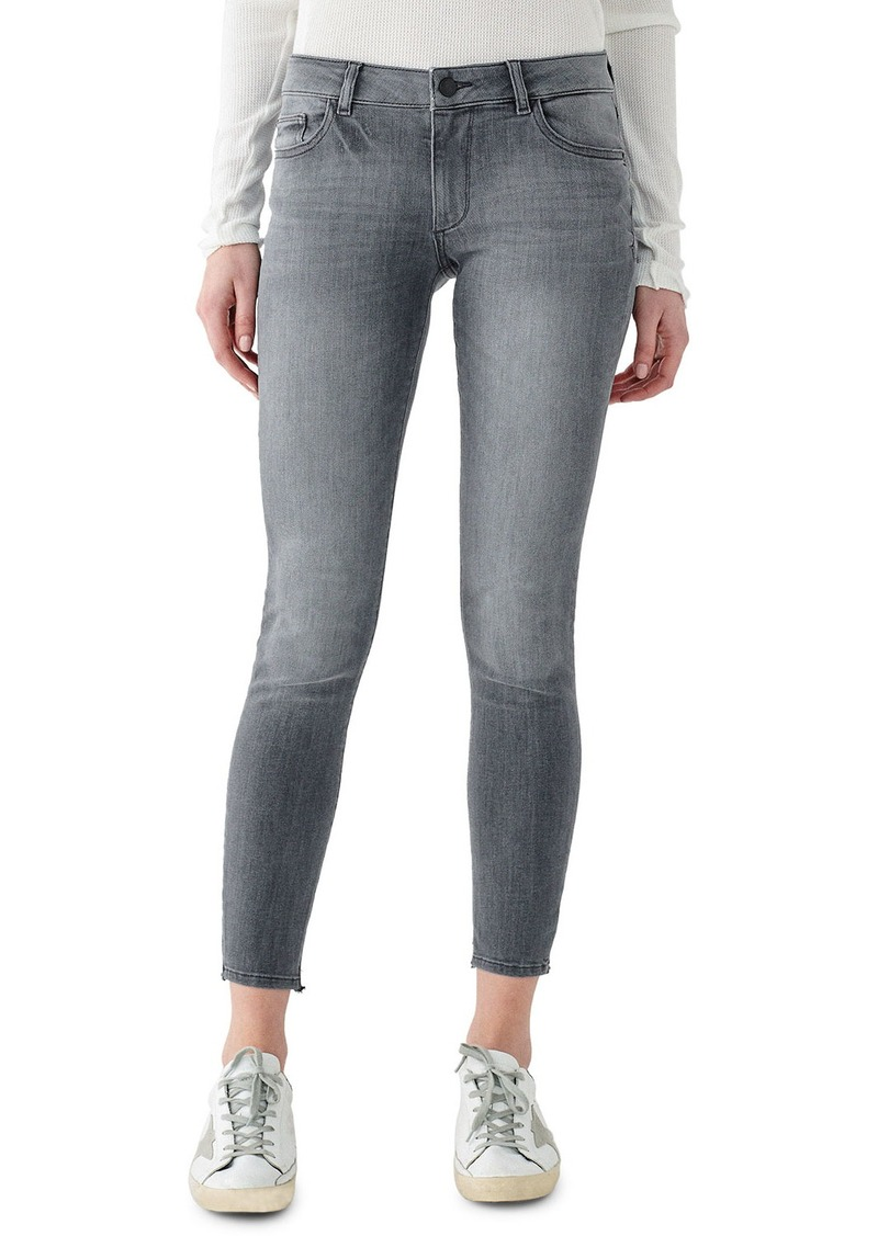 DL 1961 Emma Low-Rise Cropped Skinny Jeans