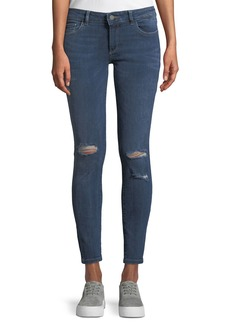 DL 1961 Emma Power Distressed Skinny Jeans