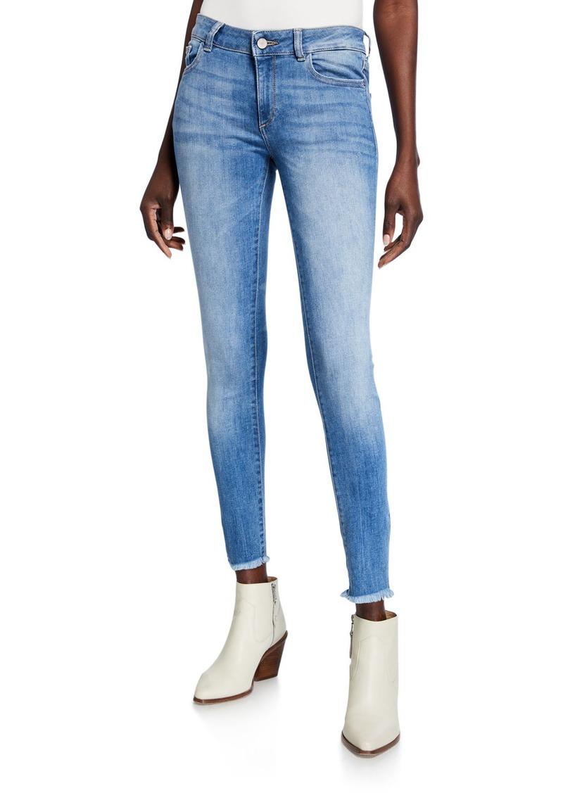 DL 1961 Emma Raw-Edge Power Legging Jeans