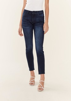 DL 1961 Farrow Ankle High Rise Skinny Jeans - 24