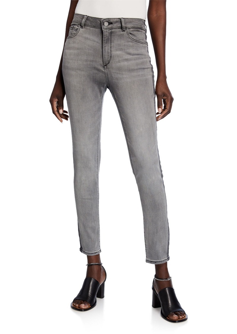 DL 1961 Farrow Ankle High-Rise Skinny Jeans