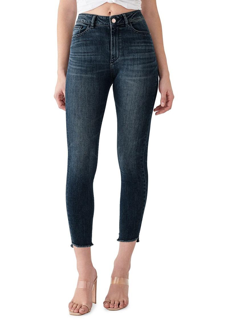 DL 1961 Farrow Crop High Rise Skinny Jeans